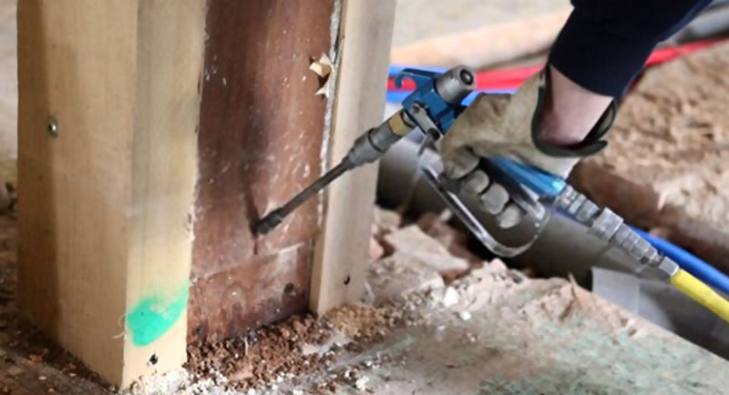 Termite Control methods for houses