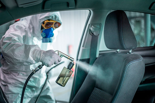 Car Sanitization Service in Trivandrum